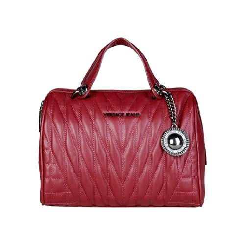 bb5008e08a VERSACE JEANS RED TOTE BAG: Amazon.co.uk: Shoes & Bags