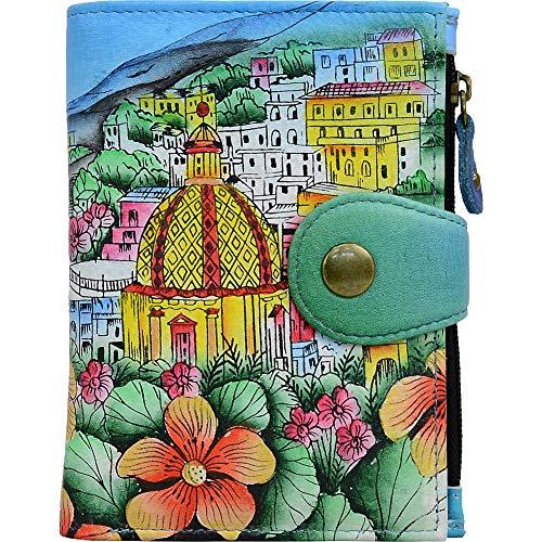 Anna by Anuschka Wallet | Genuine Leather | Amalfi Dawn