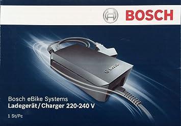 Bosch - Cargador Original Classic Plus 230 V para bicicleta eléctrica Bosch / e-bike pedelec / modelos hasta 2013: Amazon.es: Electrónica