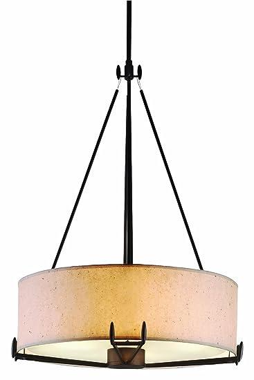 forecast lighting f510 49 four light drum shade pendant ceiling