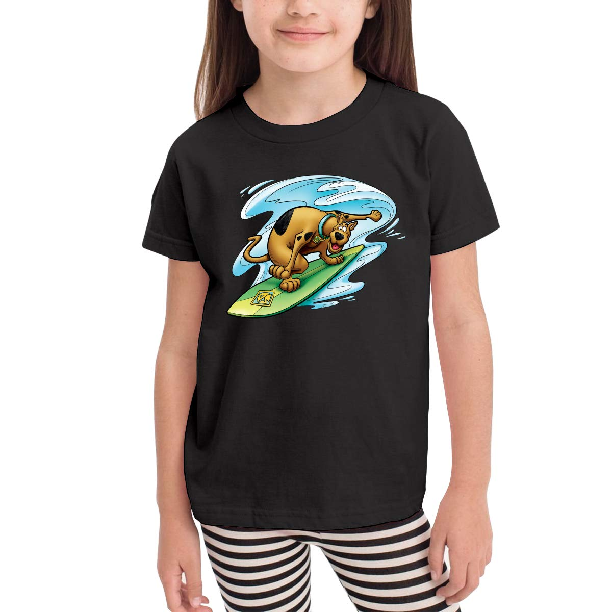 Scooby-Doo Family Short-Sleeve T Shirts Comfort Crew Neck Soft 100/% Cotton Tees