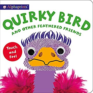 Book Cover: Alphaprints: Quirky Bird and Other Feathered Friends