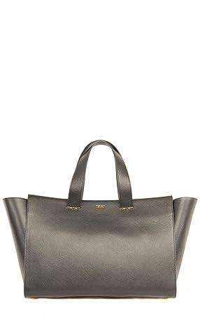 6997b56f2786 Giorgio Armani Black Tote Bag YGWM30 YG472 Size   L  Amazon.co.uk ...