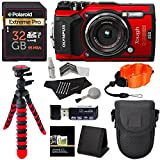 Olympus TG-5 Waterproof Camera with 3-Inch LCD, Red (V104190RU000),...