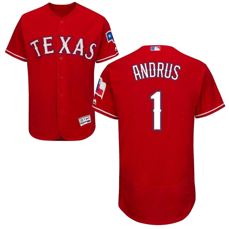 1 Elvis Andrus Jersey Baseball Jerseys Mens