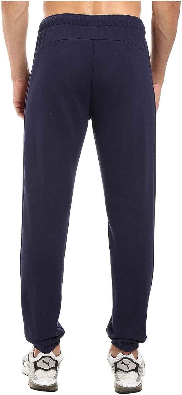 PUMA Mens Standard P48 Core Pants Fleece Cuffed Bottom