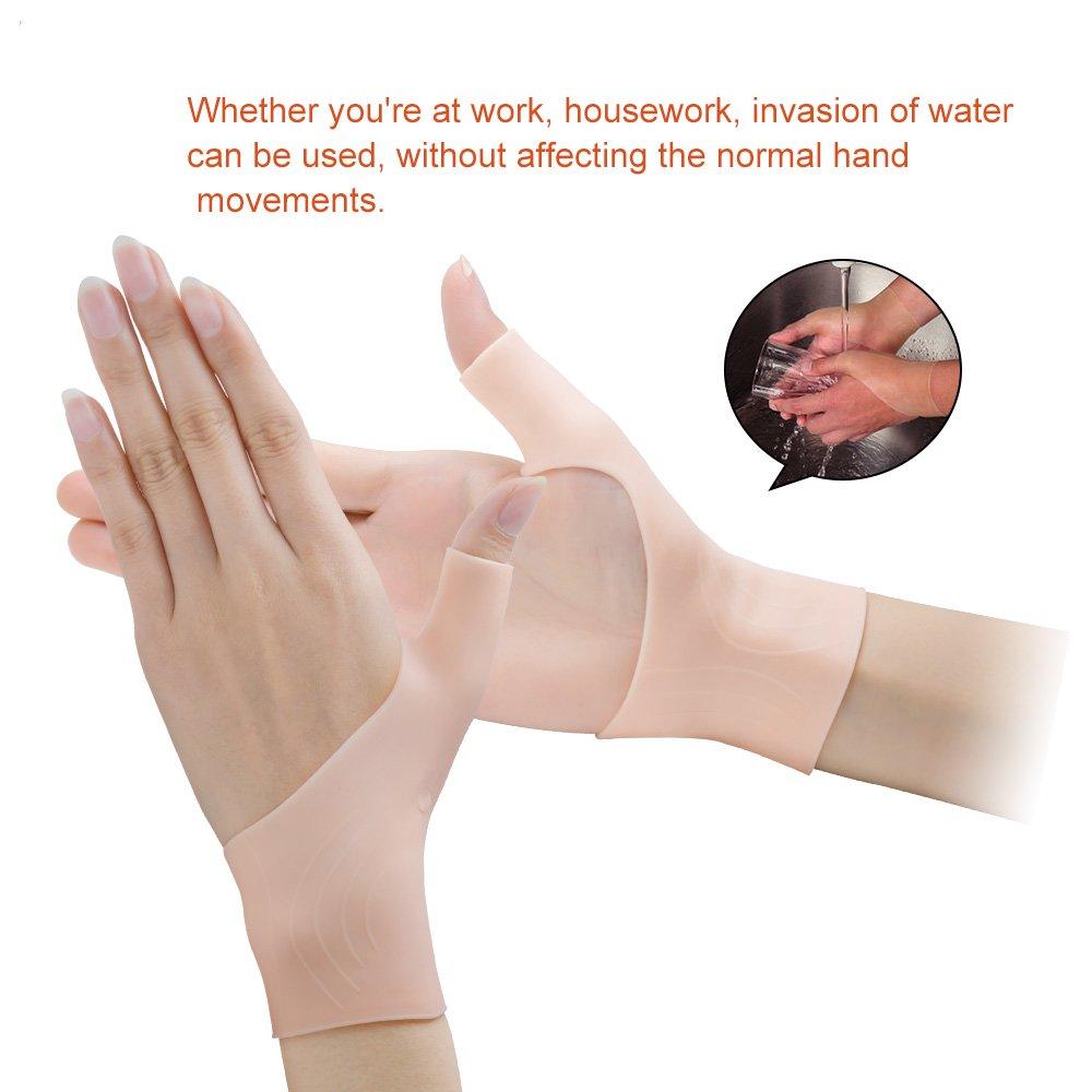 Amazon.com: Povihome Wrist Brace Carpal Tunnel, Gel Wrist Brace, Wrist Pain  & Arthritis Thumb Brace, Gel Compression Gloves for Carpal Tunnel, ...