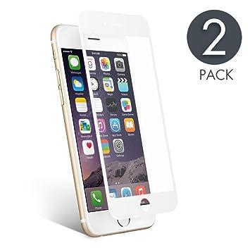 d137a9f6587 aiMaKE Protector de Pantalla Compatible con iPhone 6 Plus/6s Plus,3D Pantalla  Completa
