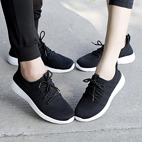 Athletic 45 US Knitted Men Lightweight Casual Sport Black M Shoe D Shoes Outdoor Sneakers Women's Padgene Running Gym 11 Walking Unisex 6UwYYp