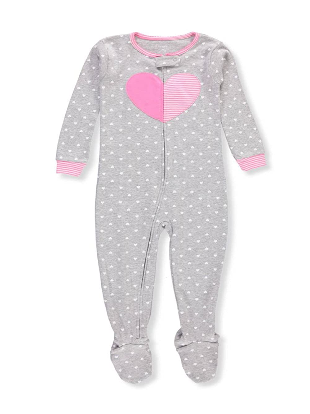 c4e193eec3ee Amazon.com  Carter s Little Girls  1 Piece Snug Fit Cotton Pajamas ...