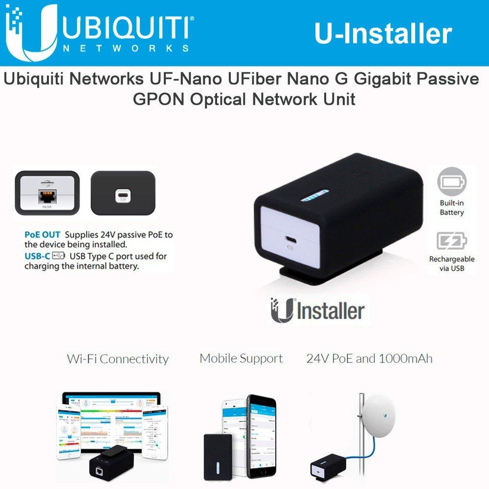 Ubiquiti Networks U-Installer 24V PoE and 1000mAh Internal Battery Pack/U-Installer / by Ubiquiti Networks