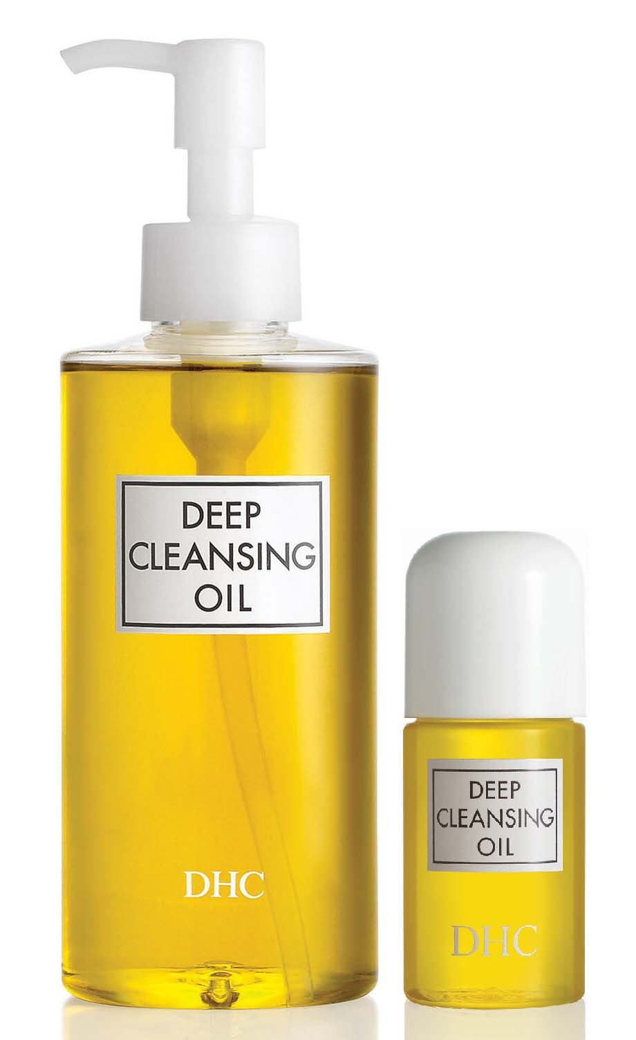 DHC Deep Cleansing Oil, 6.7 fl. oz & Deep Cleansing Oil Travel Size, 1 fl. oz. by DHC