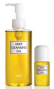 DHC Deep Cleansing Oil, 6.7 fl. oz & Deep Cleansing Oil Travel Size, 1 fl. oz.