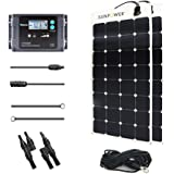 Renogy 200 Watt 12 Volt Solar Marine Kit with Sunpower Flexible Solar Panel and Waterproof Charge Controller
