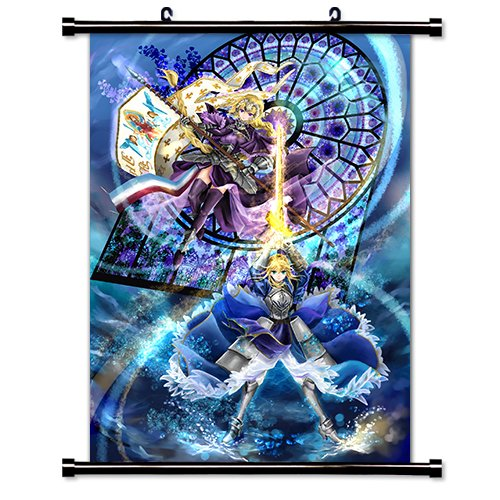 Fate Apocrypha Anime Fabric Wall Scroll Poster  Inches.  Fat