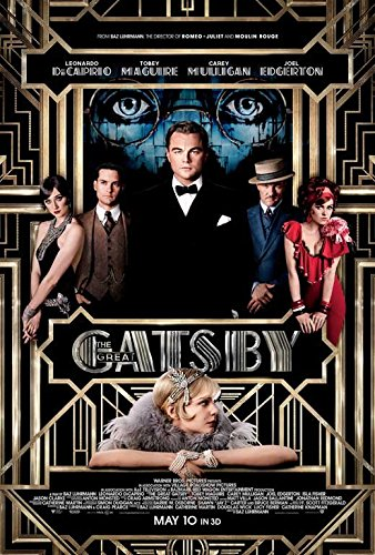 3 D Movie Posters - 11 x 17 The Great Gatsby 3D Movie Poster