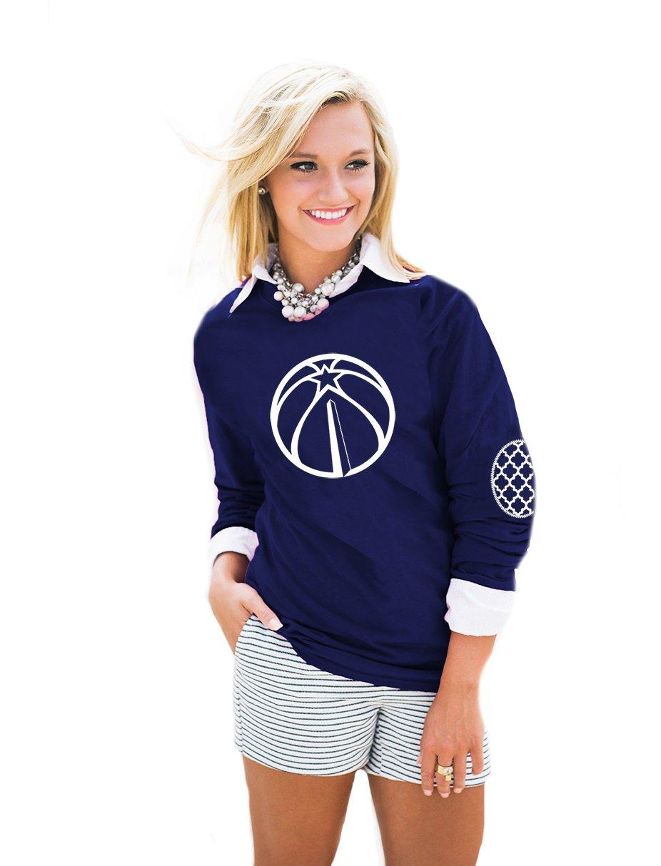 Camiseta de manga larga para mujer de la NBA, coderas con ...