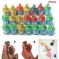 Alaojie - 100 Palomitas de Colores Surtidos