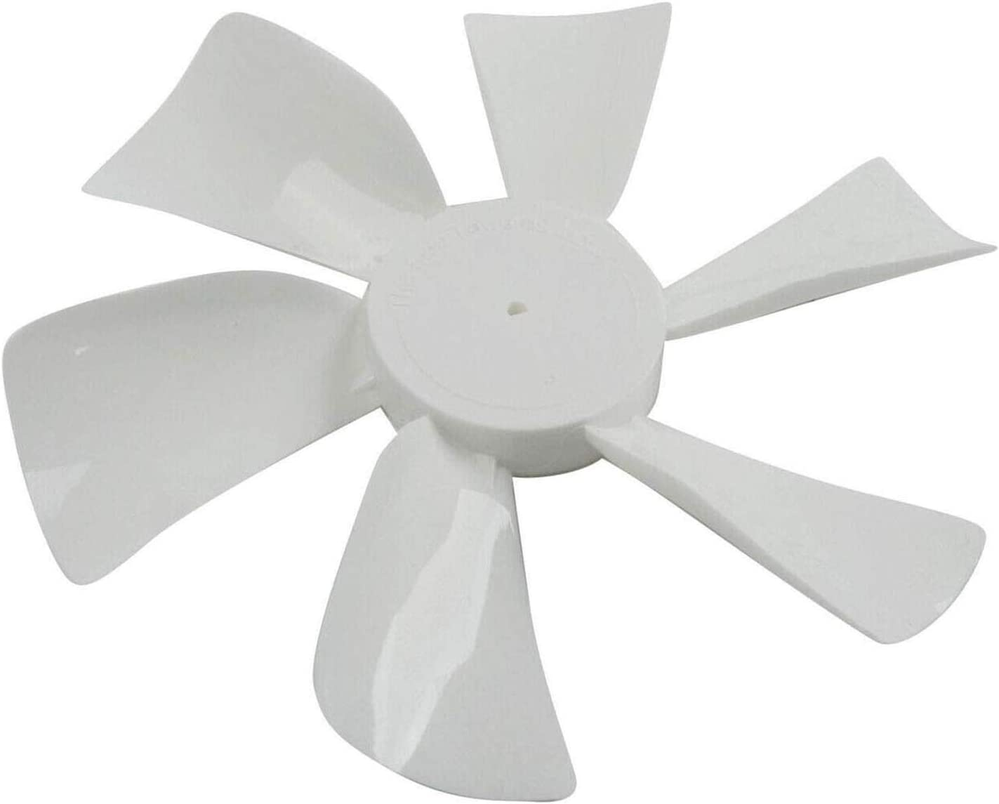 """Dumble Fan Blades Replacement with 0.094/"""" D-Bore 6/"""" Inch White RV Bathroom Fan Blade Replacement Camper Fan Blade"""