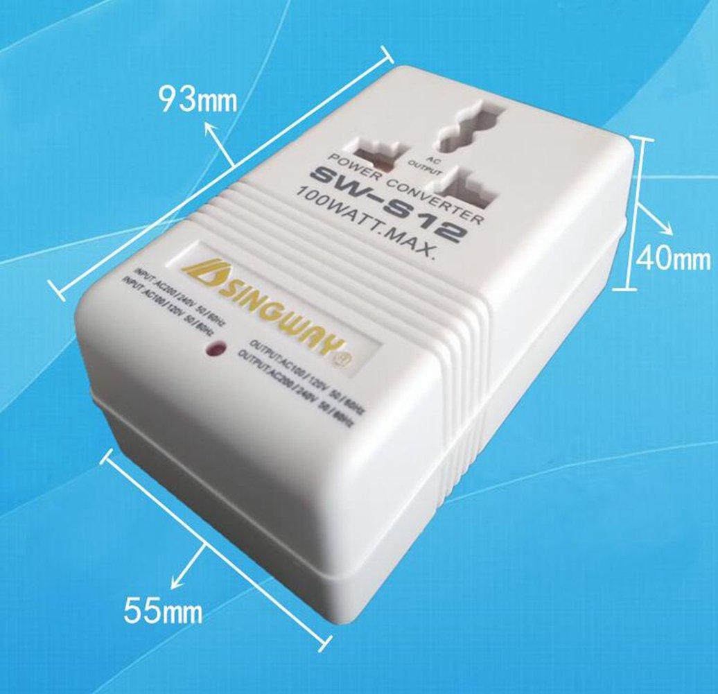 elegantstunning Tipo A US//Cina 2 Pin Convertitore di Tensione da Viaggio da 110 V a 220 V//220 V a 110 V