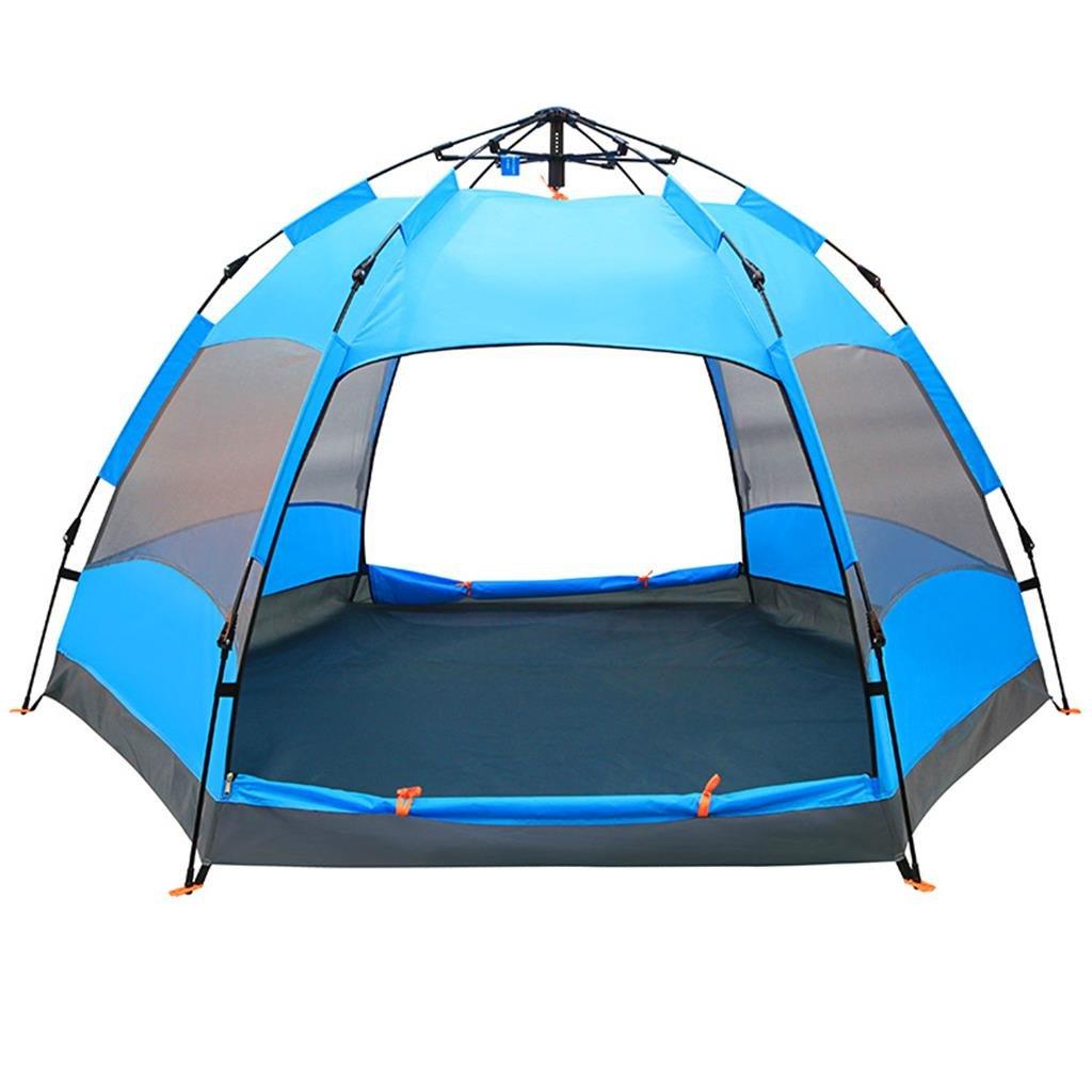 PIGE Automatische Große Zelt Outdoor Familie 5-8  Herrenchen Outdoor Sun Camping Zelt