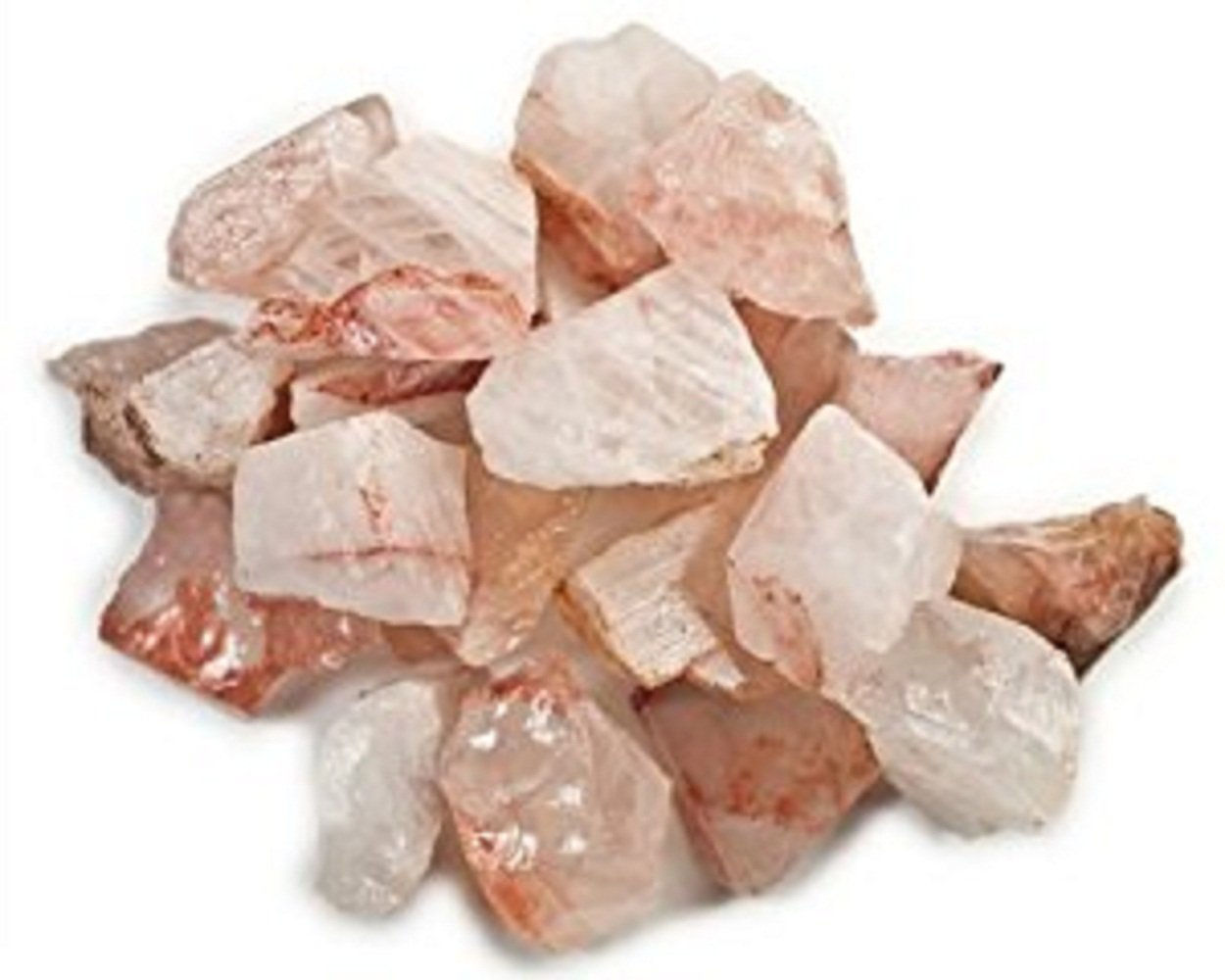 Azaina_wor 2,000 Carat bag of beautiful Natural Rough Fire Quartz stones in assorted sizes mostly in the range of 1'' - 2''