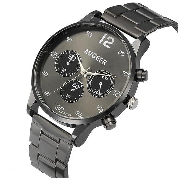 relojes de hombre baratos Switchali relojes de hombre deportivos Reloj analógico de cuarzo para caballero de
