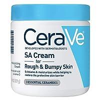 Cerave SA Cream | 19 oz | Renewing Salicylic Acid Body Cream for Rough & Bumpy Skin...