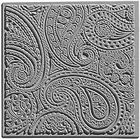 """EFCO """"diseño de cachemira"""" con textura imitación, Gris"""