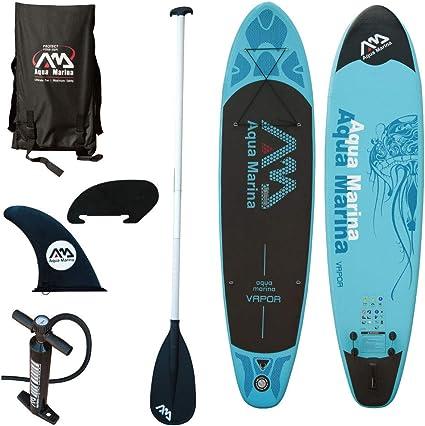 Amazon.com: Aqua Marina Stand Up Paddle Junta de vapor ...