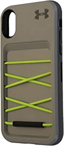 Under Armour Arsenal Series Storage Case for Apple iPhone X 10 - Gray / Green