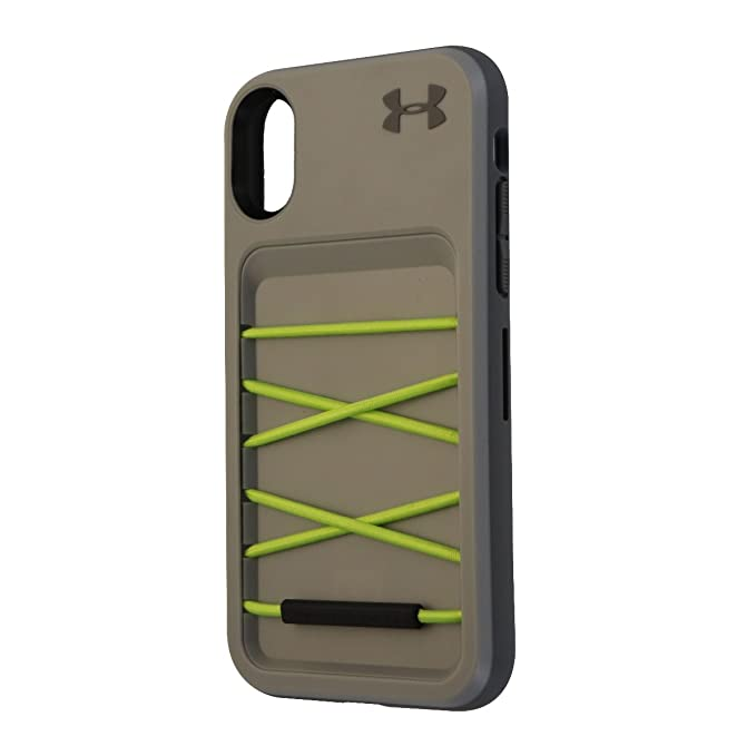 b11b2b5b1d Under Armour Arsenal Series Storage Case for Apple iPhone X 10 - Gray /  Green