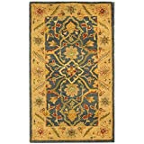 Safavieh Antiquities Collection AT14E Handmade Traditional Oriental Blue Wool Area Rug (2'3″ x 4′) Review