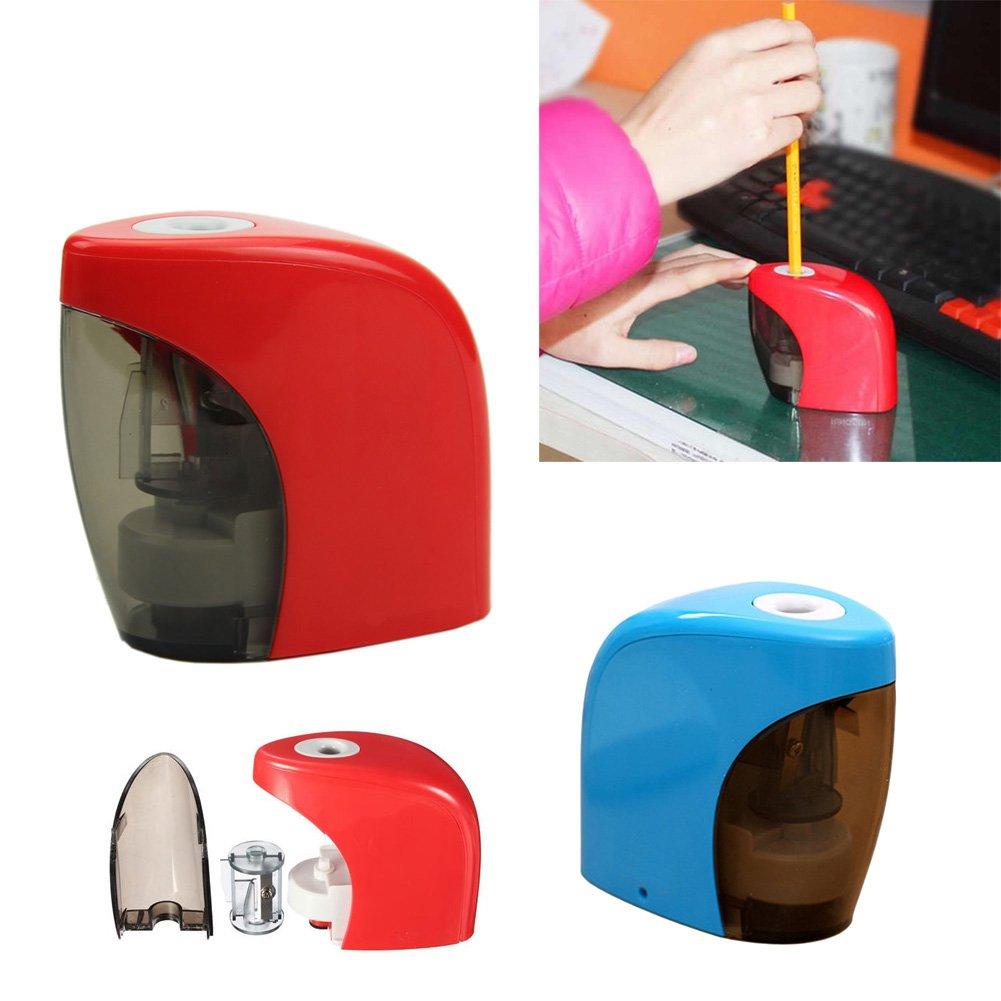 Qiman Elektrischer Bleistiftanspitzer Automatischer Noten Schalter Hauptschulbüro Klassenzimmer