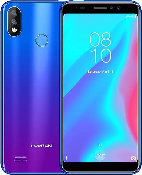 HOMTOM C8 Smartphone - 2GB +32GB Azul: Amazon.es: Electrónica