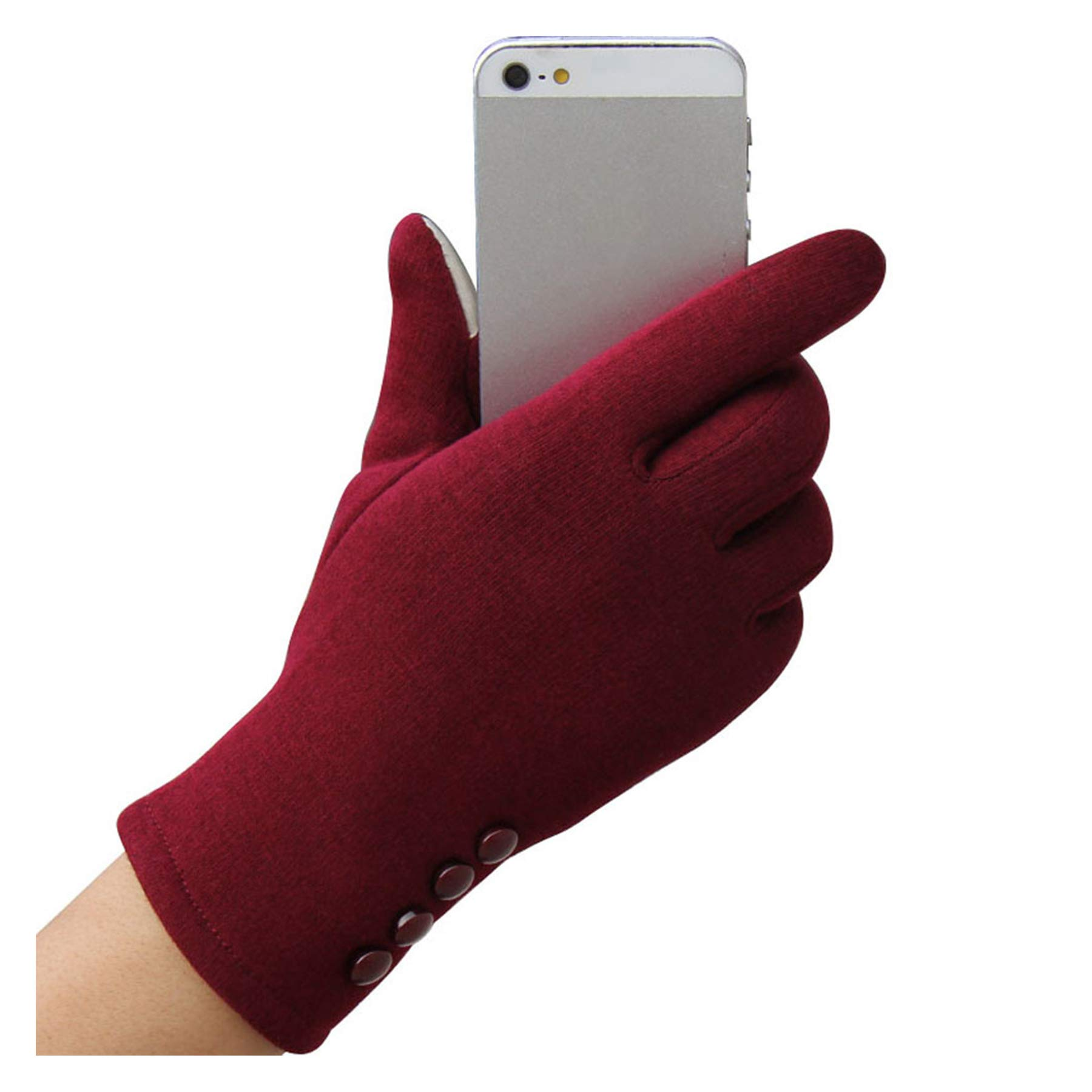BingYELH Women's Touch Screen Gloves-Winter Warmer Sports Outdoor Cycling Windproof Texting Gloves