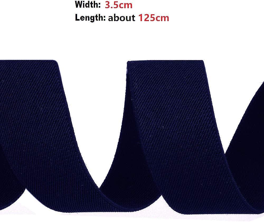 nuova versione da 3,5 cm per uomo e donna Aissy forma a Y set 2//3 WAY TO WEAR elasticizzate e regolabili Bretelle da uomo con papillon