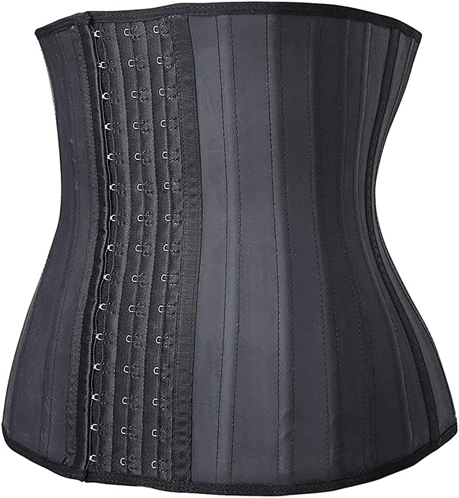 E.N.DEEP E/&D Women Latex 25 Boned Waist Trainer for Weight Loss Sport Shaper Cincher Corset