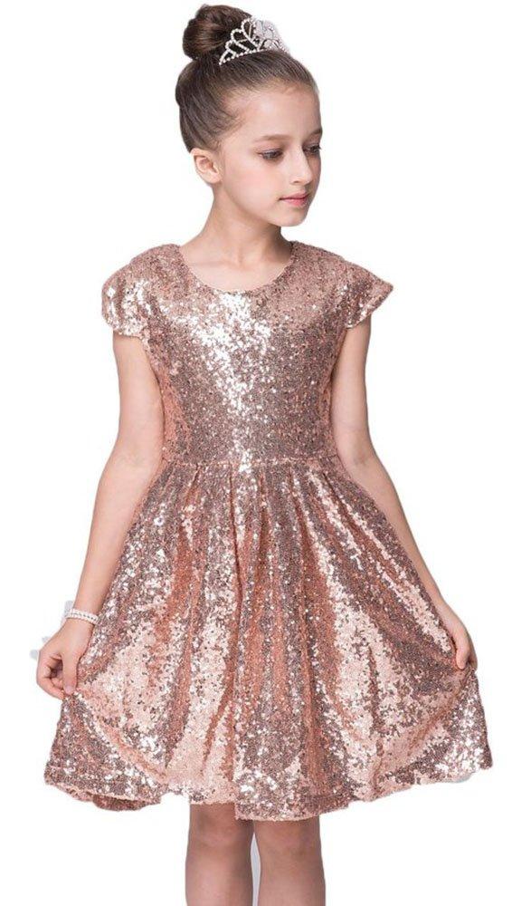 Kids vestido Showtime Fiesta niña B06Y4NK6MP vestido de lentejuelas ...