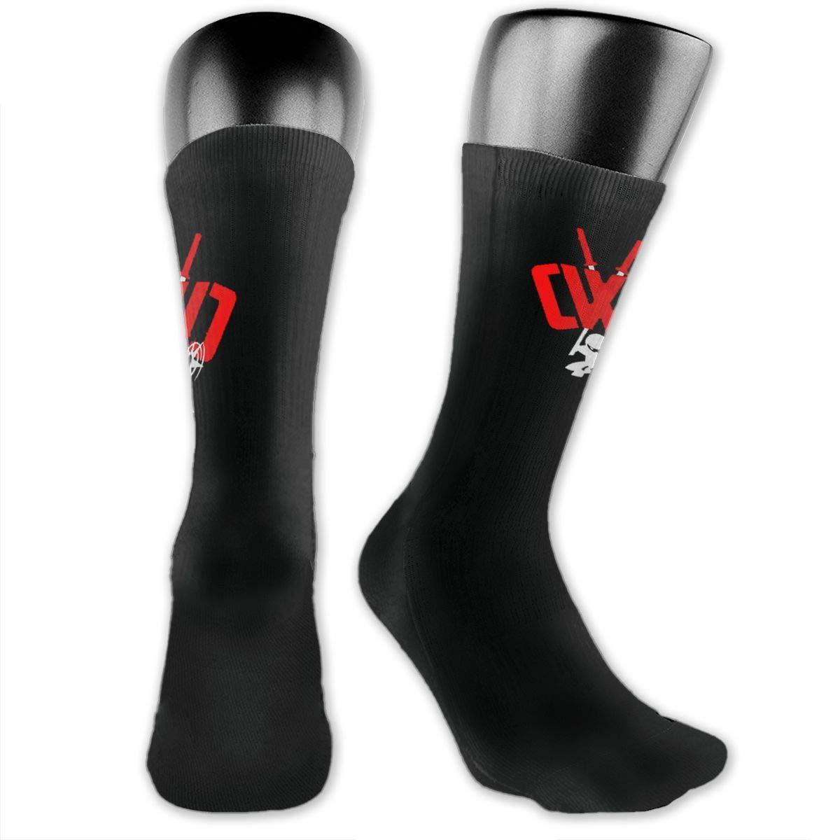 Amazon.com: C-W-C Chad Ninja Clay Athletic Crew Socks Casual ...