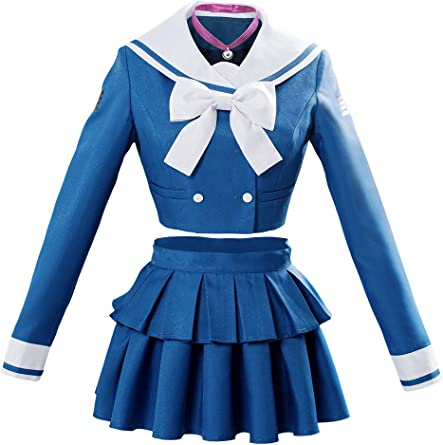 New Danganronpa V3 Killing Harmony Harukawa Maki School Uniform Cosplay Costume