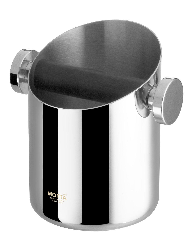 Motta stainless steel Knock Box - 11 cm diameter [7750] by Metallurgica Motta