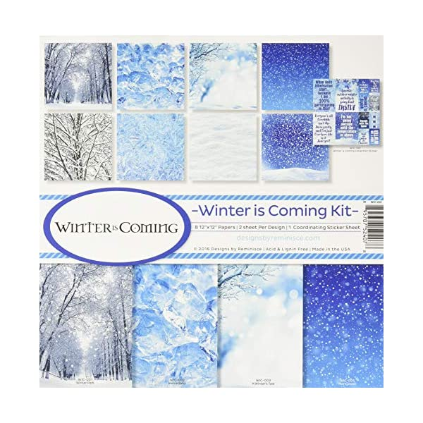 Reminisce Winter is Coming Collection Kit