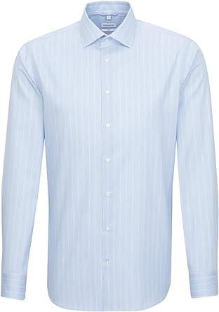 Seidensticker Camisa de negocios para hombre, de manga larga ...
