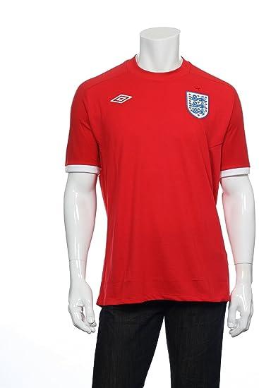 England 10/11 Away Soccer Shirt