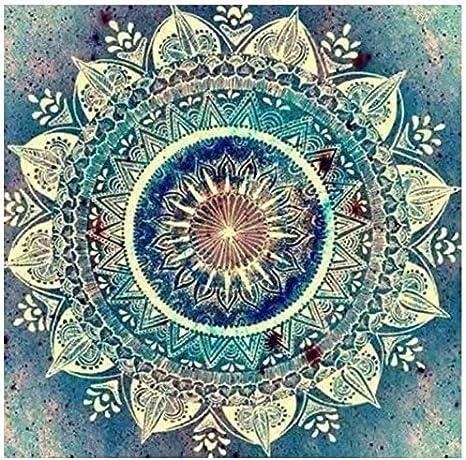 Mandala Full Drill 5D Diamond Painting DIY Cross Stitch Kits Embroidery Wall Art