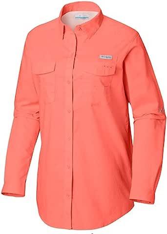 Columbia Women's PFG Bonehead II Long Sleeve Shirt, Cotton, Relaxed Fit