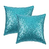 Decor your home with PONY DANCE cushion cover-The ideal,must-have throw pillow cover for you!The pillow cover features sparkling sequins,reflecting a look of luxury.Not only make differenced in your home deocor,but also party,christmas...