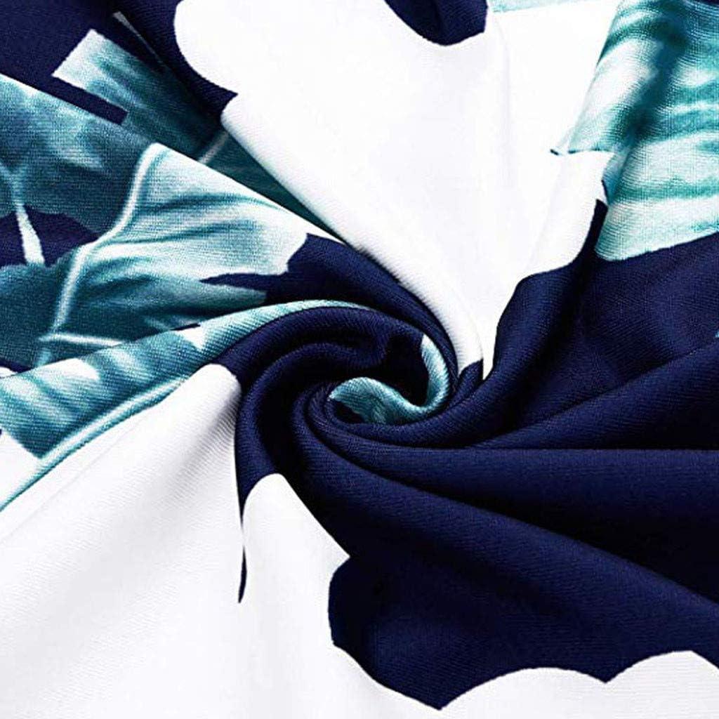 Eoeth Womens Cold Shoulder Bohemian Floral Print Maxi Dresses Summer Holiday Casual Loose Beach Long Dress