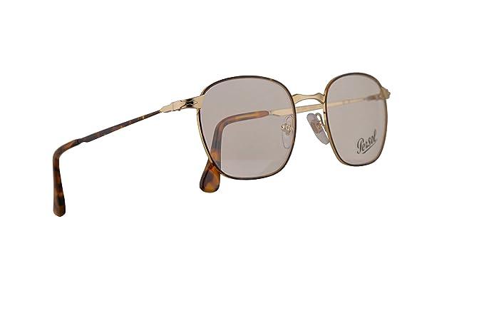 b58a604bf8 Amazon.com  Persol PO2450V Eyeglasses 50-20-145 Gold Havana w Demo ...